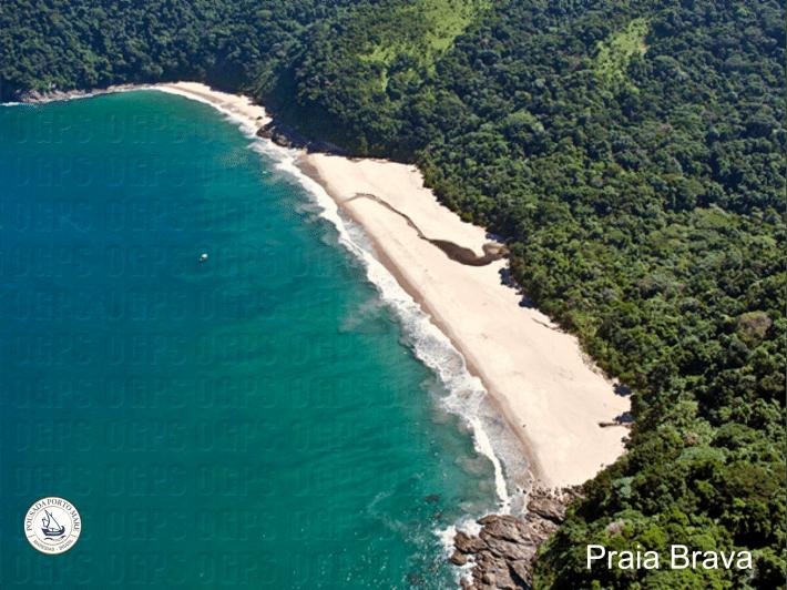 Praia brava - São Sebastião