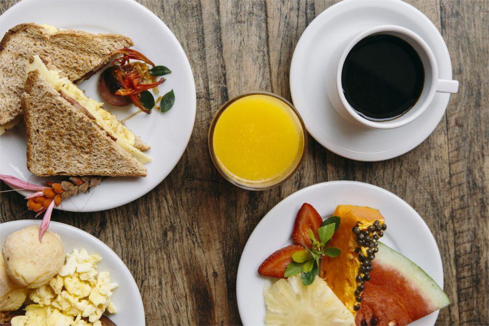 Café da Manhã Pousada Porto Mare - Maresias